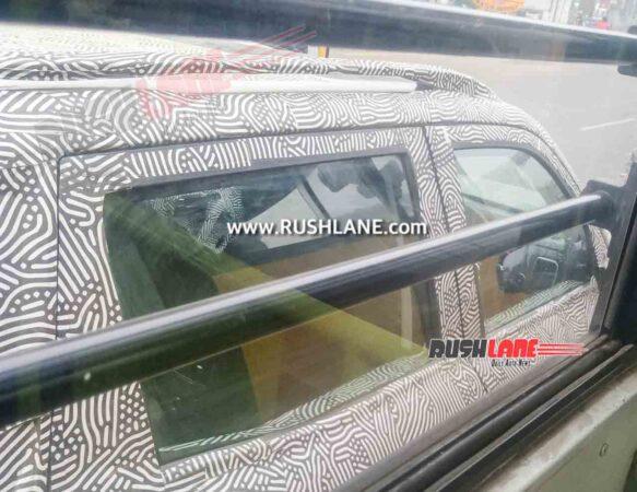 2021 Mahindra Scorpio Top View Shows Presence Of Sunroof