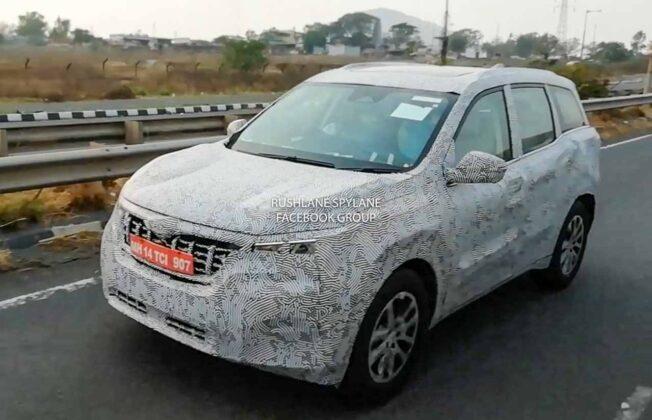 New Mahindra XUV500 Test Mule
