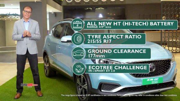 2021 MG ZS EV  updates