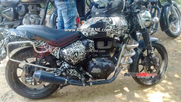 Royal Enfield Hunter 350 Spied