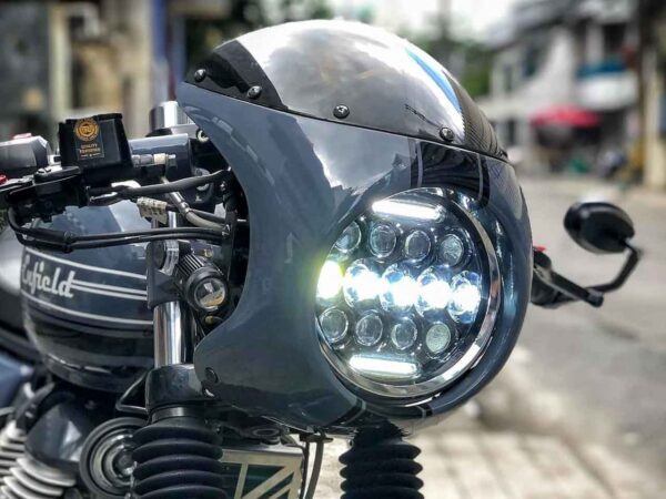 Royal Enfield 650 'Project Serum' By MoTeycycle Garage