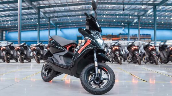 Ather 450X Electric Scooter At New Factory