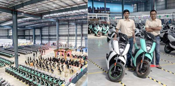 Ather Electric Scooter Production At New Plant
