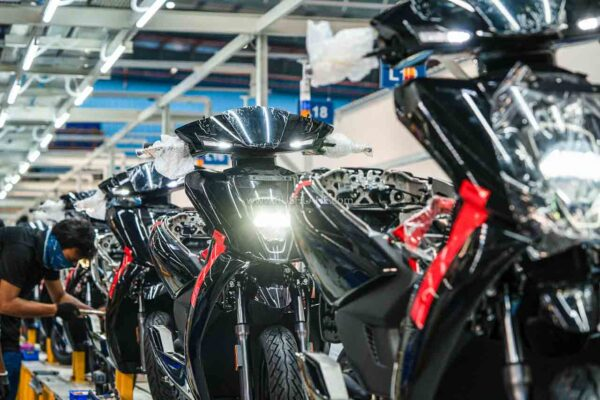 Ather Electric Scooter Production At New Hosur Plant