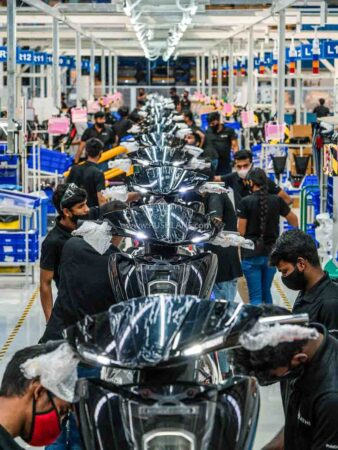 New Ather EV Plant