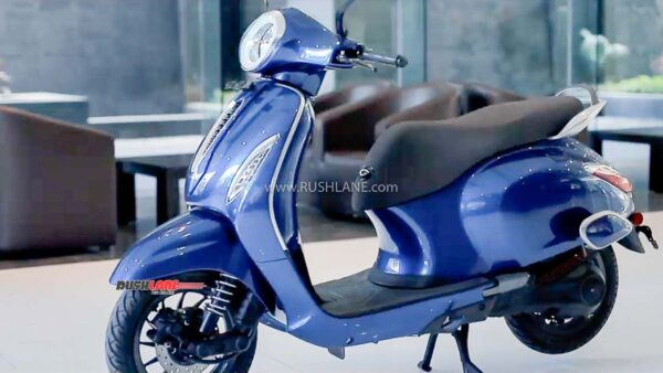 Bajaj Chetak Electric Scooter Sales Jan 2021