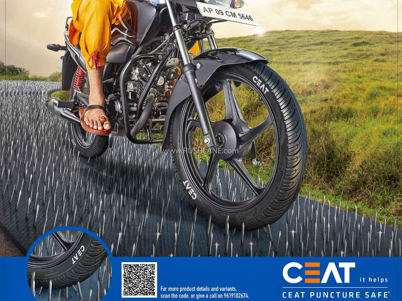 CEAT Puncture Proof Tyres Highlighted In New TVC With Keelwale Baba - RushLane