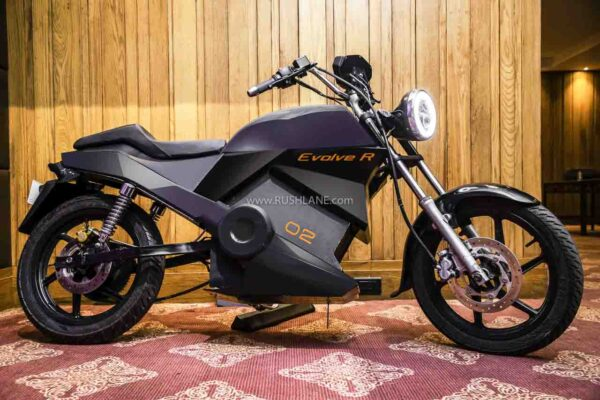Earth EV Evolve R Electric Motorcycle