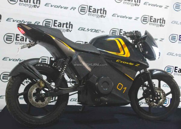 Earth EV Evolve Z Electric Motorcycle