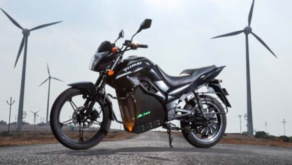 Etryst 350 Electric Motorcycle