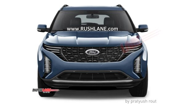 New Ford SUV For India - Render