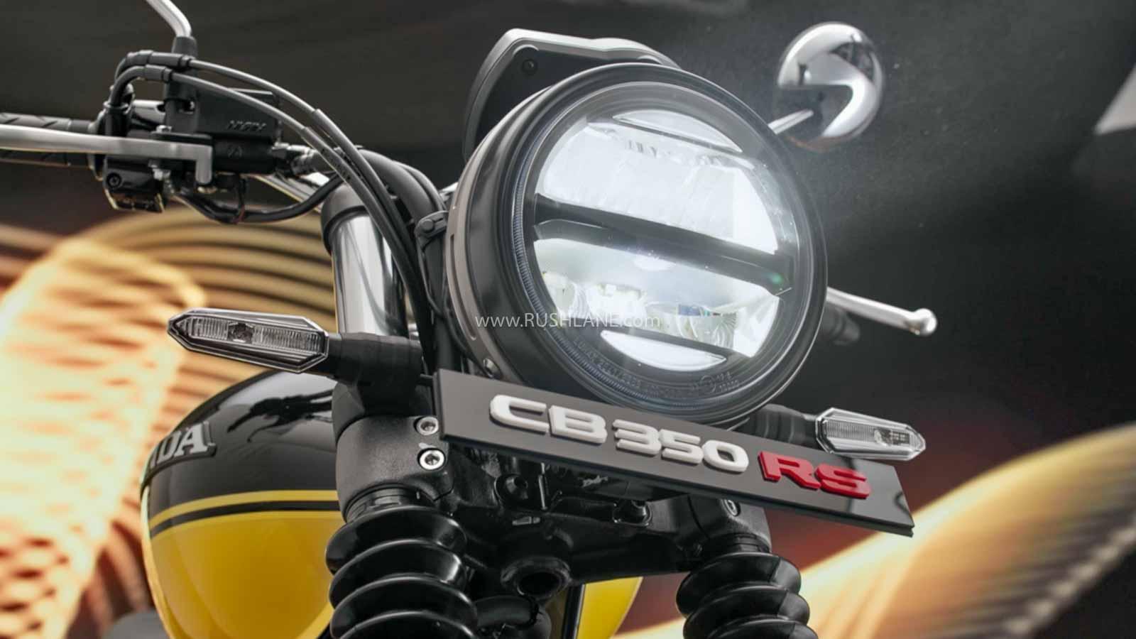 New Honda CB350RS vs Honda CB350 - Top Differences Explained - RushLane