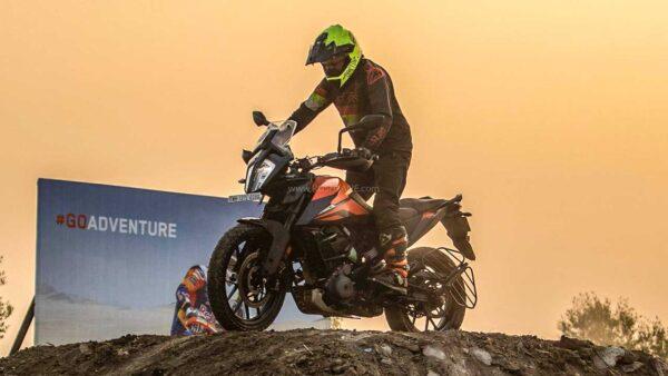 KTM India Sales Jan 2021