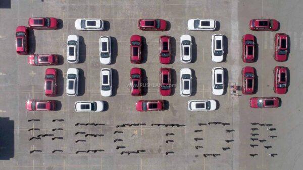 MG Hector 50k Production Milestone
