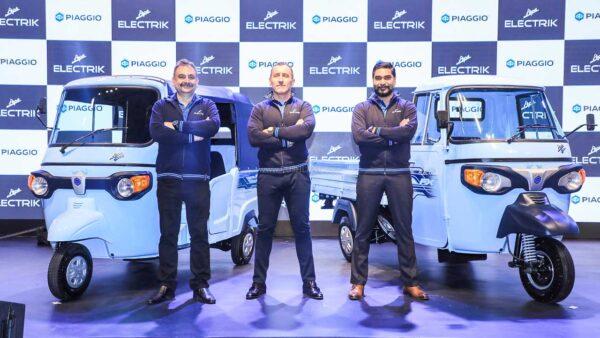 Piaggio Ape Electric 3 Wheeler launch