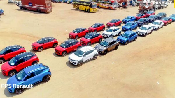 Renault Kiger Delivery Record