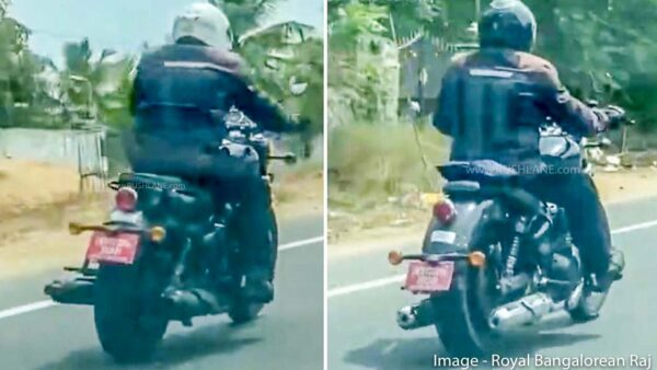 Royal Enfield Cruiser 650 and Classic / Meteor 650 Spied together