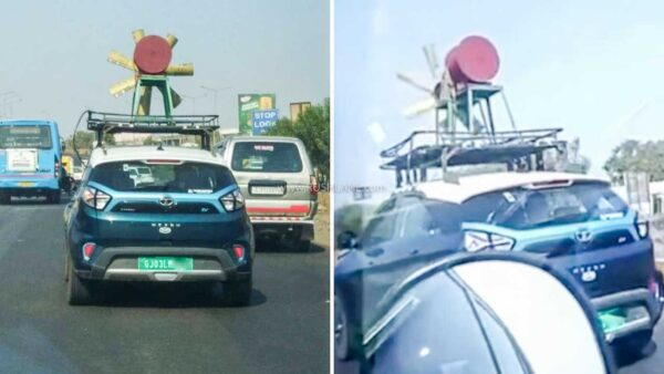 Tata Nexon Electric Windmill