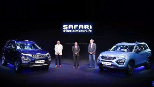 New Tata Safari Launch