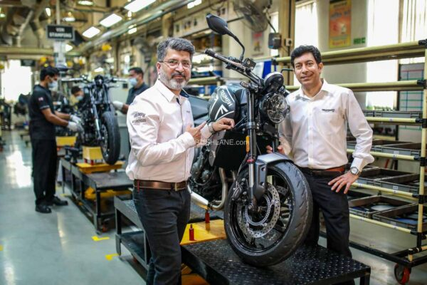 Triumph Trident is locally assembled