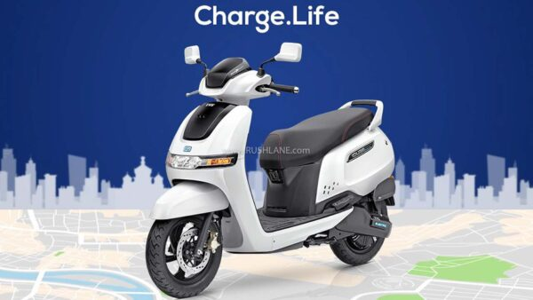 TVS iQube electric Delhi Launch