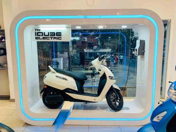 TVS iQube Delhi Launch