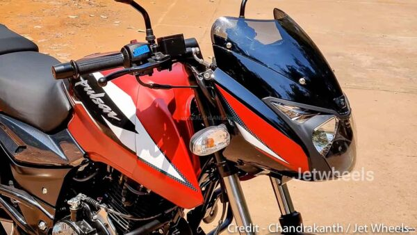 2021 Bajaj Pulsar 150 - Matte Red Colour