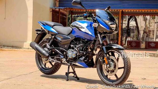 2021 Bajaj Pulsar 180 - New Blue Colour