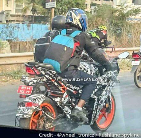 2021 KTM RC 200 / 125 Spied in India - New Gen