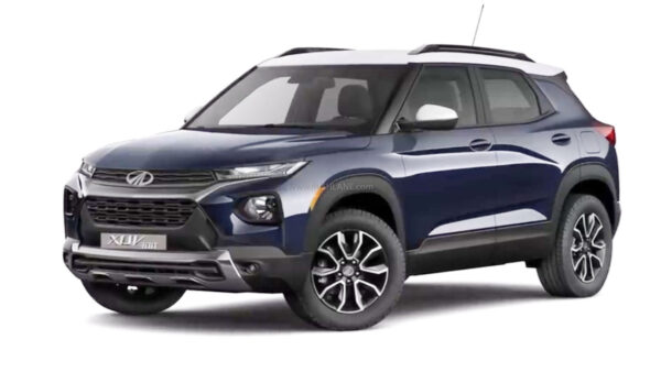 2021 Mahindra XUV300 Facelift Render
