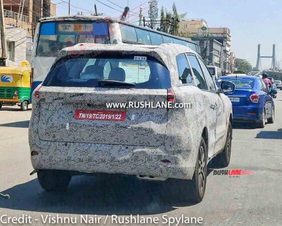 2021 Mahindra XUV500 Spied