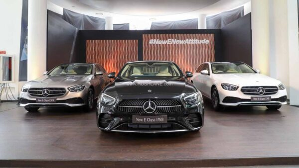 2021 Mercedes E Class India Launch