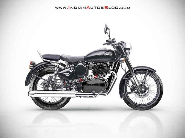 2021 Royal Enfield Classic 650 Render