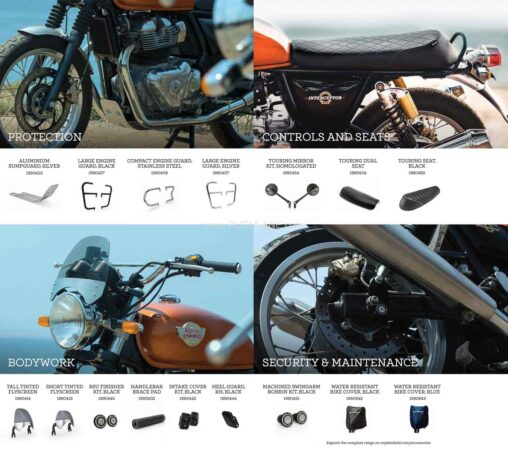 2021 RE INT 650 Accessories