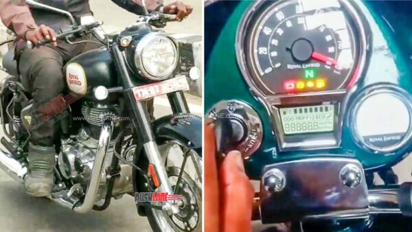 2021 Royal Enfield Classic 350 Instrument Cluster