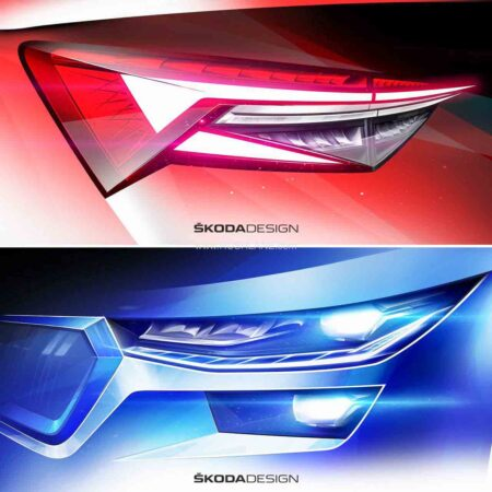 2021 Skoda Kodiaq Facelift