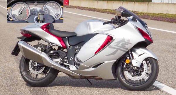 2021 Suzuki Hayabusa Top Speed Run