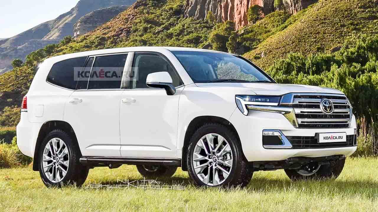 2022 Toyota Land Cruiser Next Gen SUV Render Based On Spy ...