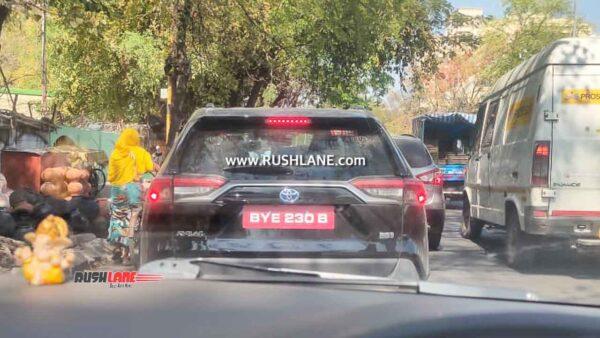 2021 Toyota RAV4 Spied