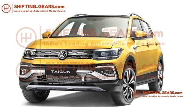 2021 Volkswagen Taigun Production Spec