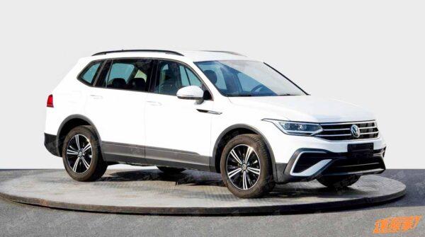 2022 Volkswagen Tiguan Allspace Facelift