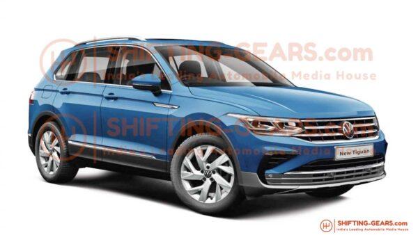 2021 Volkswagen Tiguan Facelift for India