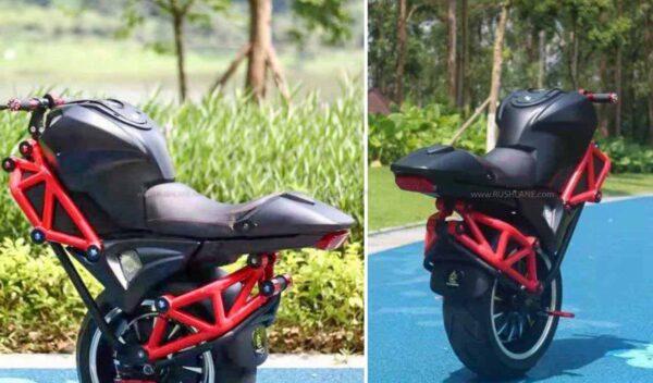 Alibaba one wheel electric motorcycle