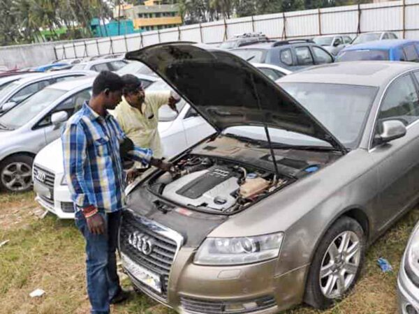 Audi Flood Damaged Car