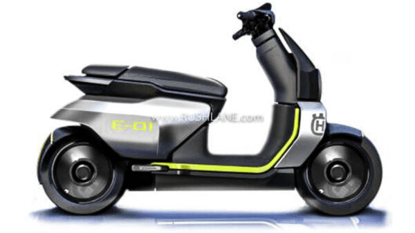 Husqvarna electric scooter render