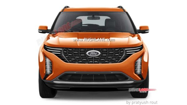 Ford SUV based on XUV500 - Render