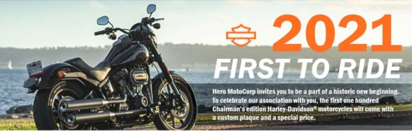 Hero First To Ride Offer