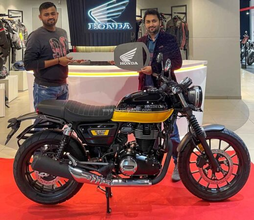 Honda CB350 RS First Batch Delivery Starts