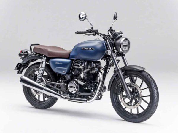Honda CB350 Matt Jeans Blue Metallic