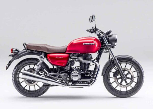 Honda CB350 Candy Chromosphere Red